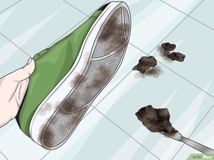 nettoyer des semelles en caoutchouc   Nettoyage chaussure