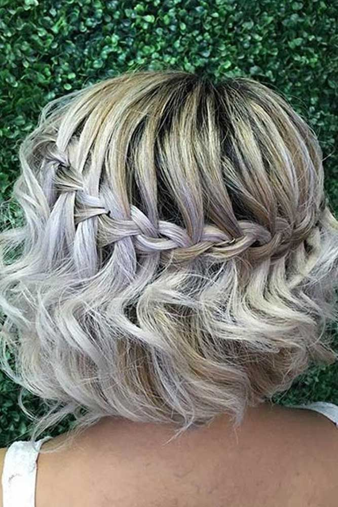 Short Hairstyles For A Christmas Party Lovehairstyles Com Medium Hair Styles Braids For Short Hair Cool Braid Hairstyles