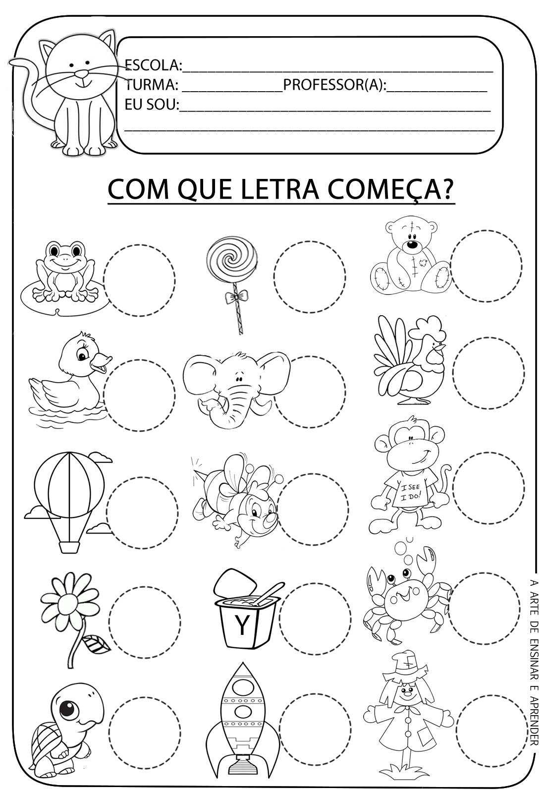 letra+inicial2.png (1108×1600) | atividade | Pinterest