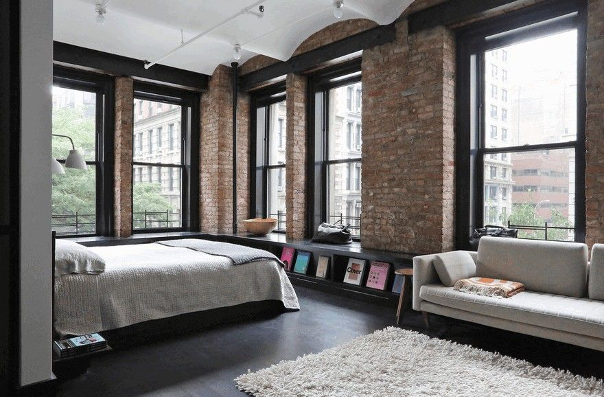 1903 Noho Factory Converted Into Industrial Loft Style Home Loft