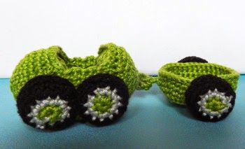 Kleines Auto Mit Anhänger Kostenlose Pdf Häkelanleitung Cute
