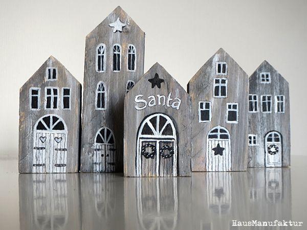 Holzhäuser, wooden houses #weihnachtenholz