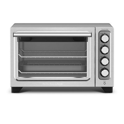 KitchenAid 12-in Stainless Steel Convection Toaster Oven Toaster ...