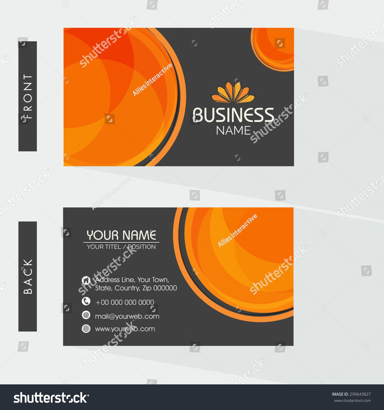 2 Sided Business Card Template Word Business Card Template Word Business Card Template Make Business Cards
