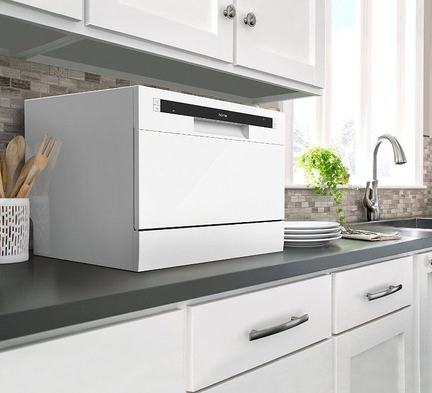 Homelabs Compact Countertop Dishwasher Home Kitchens Small