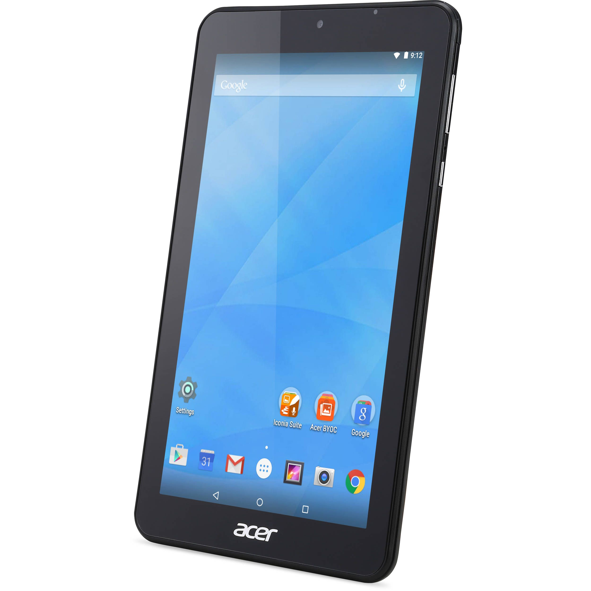 "Acer 7"" Iconia e 7 8GB Tablet Wi Fi Black"