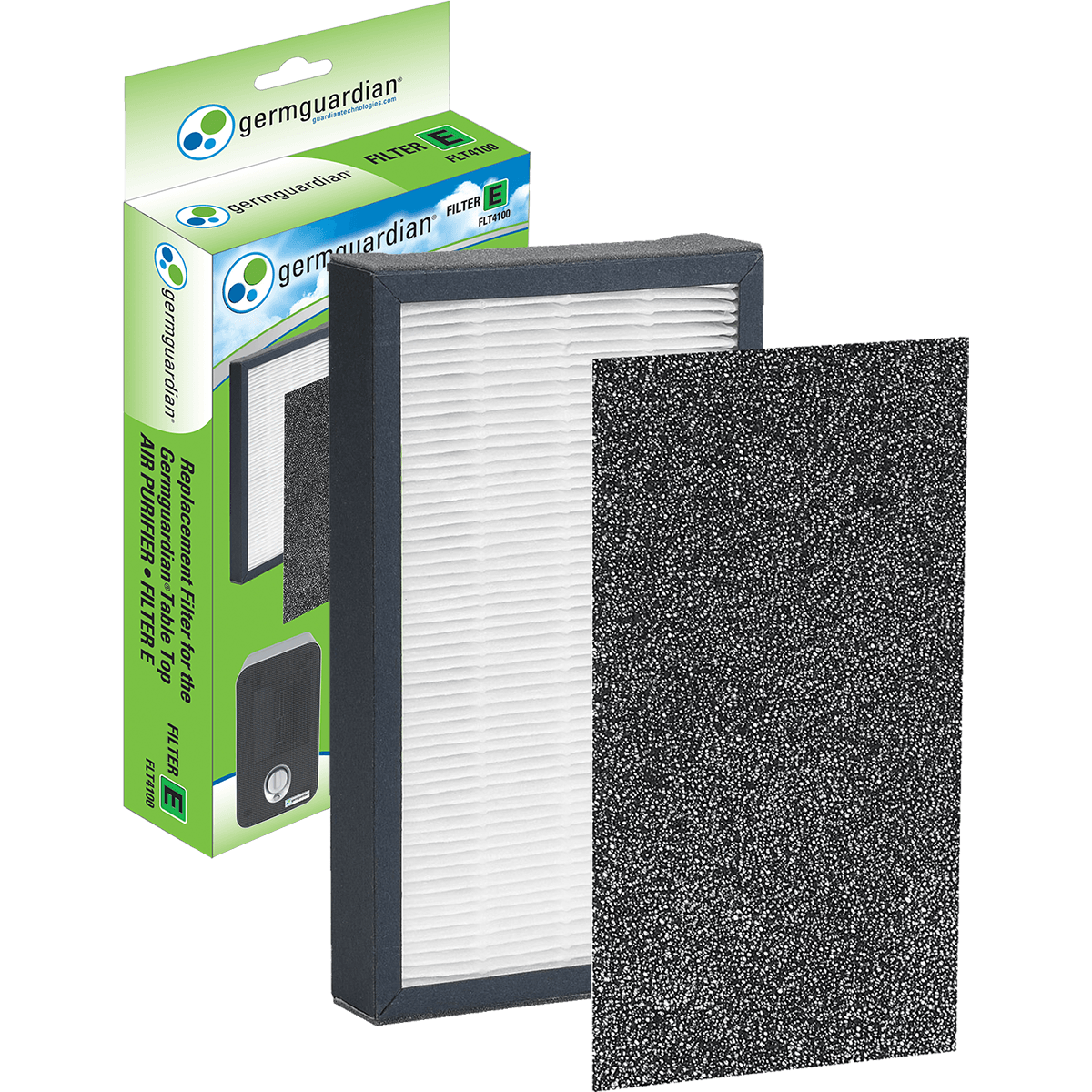 Buy Cheap GermGuardian HEPA Replacement Filter E (FLT4100