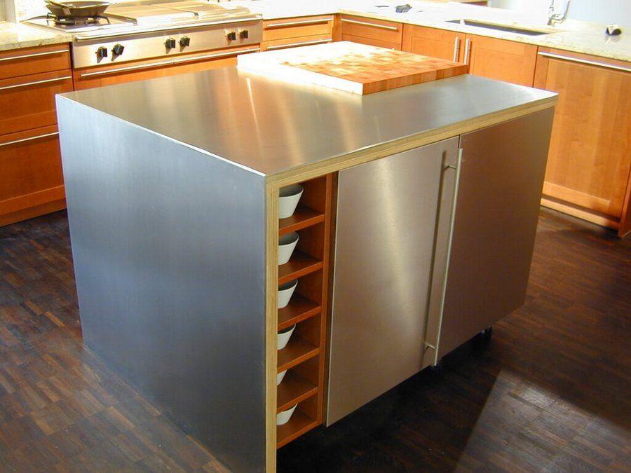 Stainless Steel Kitchen Island Canada Stainless Steel Kitchen Table Metal Kitchen Island Stainless Steel Kitchen Island