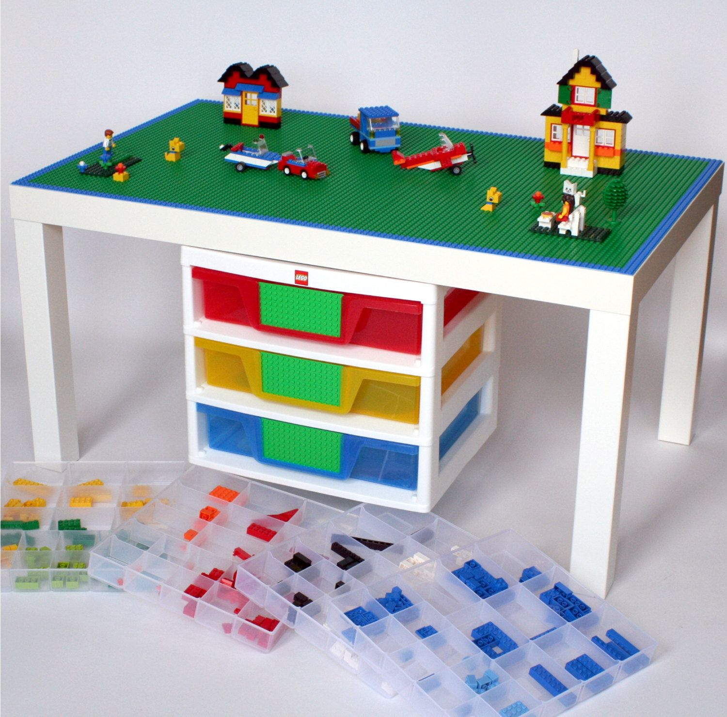 Large Lego Table 22 X 35 Surface With