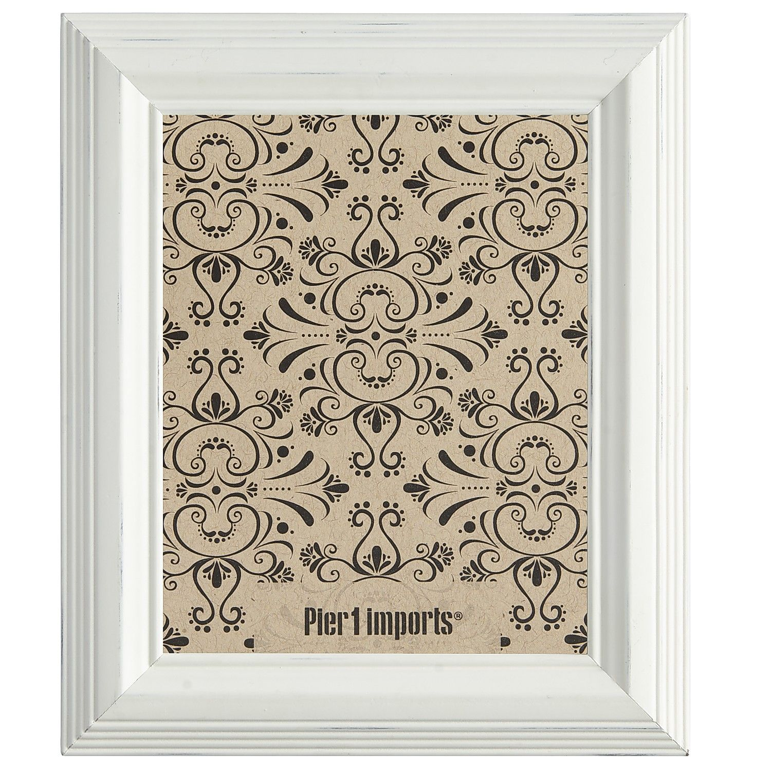 White cable frame 5x7 glass decor picture frames white cable frame 5x7 glass jeuxipadfo Image collections