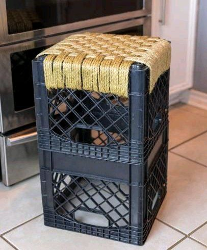 Milk Crate Magic: Neat Things You Can Make With Upcycled Milk Crates images