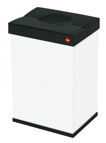 Hailo 6404-901 Großraum-Abfallbox mit Schwingdeckel Big-Box 40 - mülleimer für küchenschrank