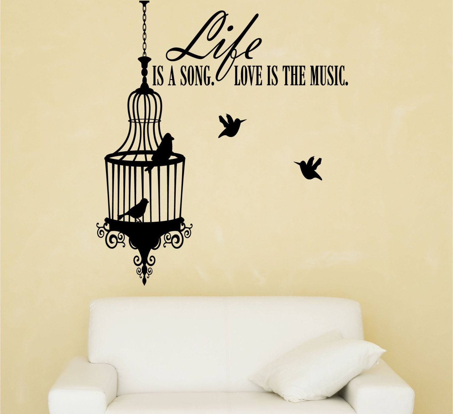 Awesome Birdcage Wall Art Gift - All About Wallart - adelgazare.info