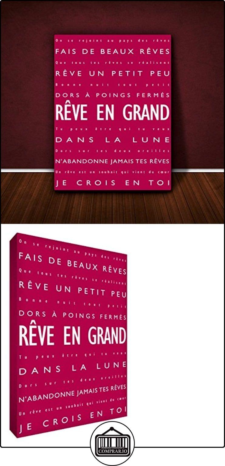 Feel Good Lienzo modernos y Typographique el marco de la pared ...