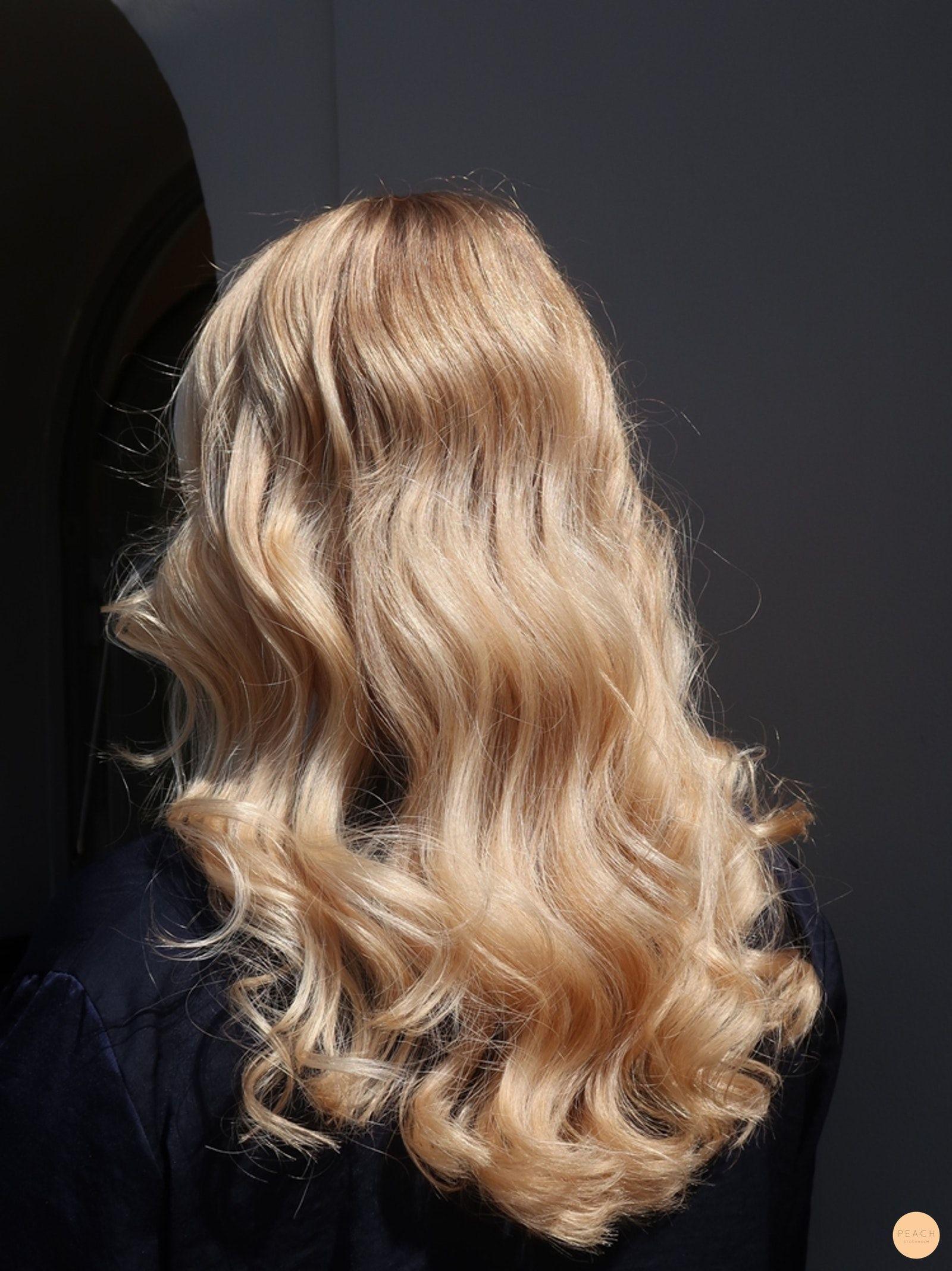 Rubia dorada lujosa – Melocotón Estocolmo   – 1b) Blonde – Varm och/eller guldi…