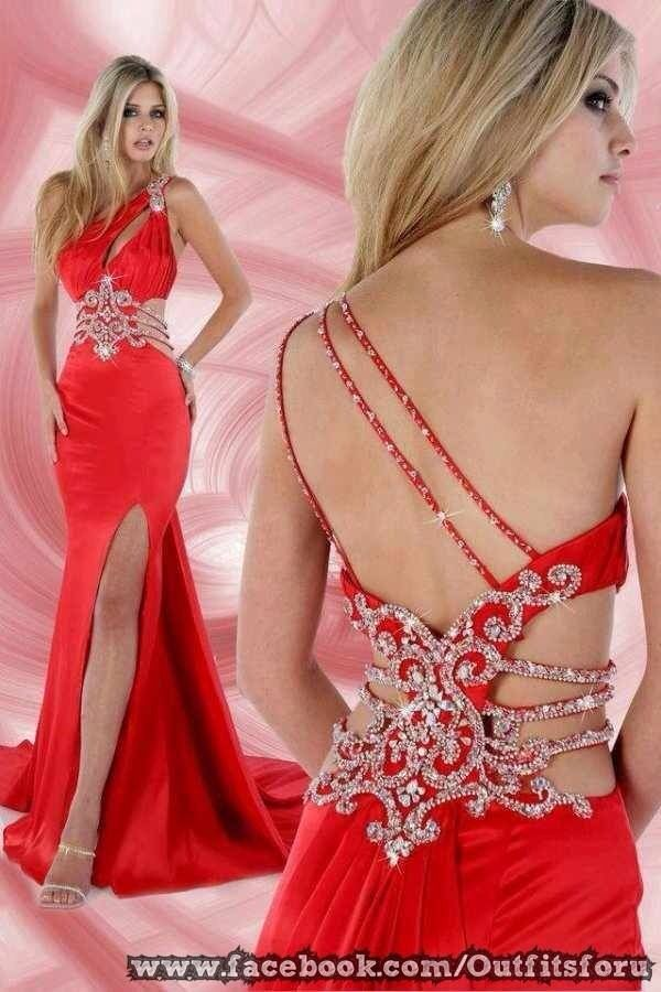 Vestido rojo sensual