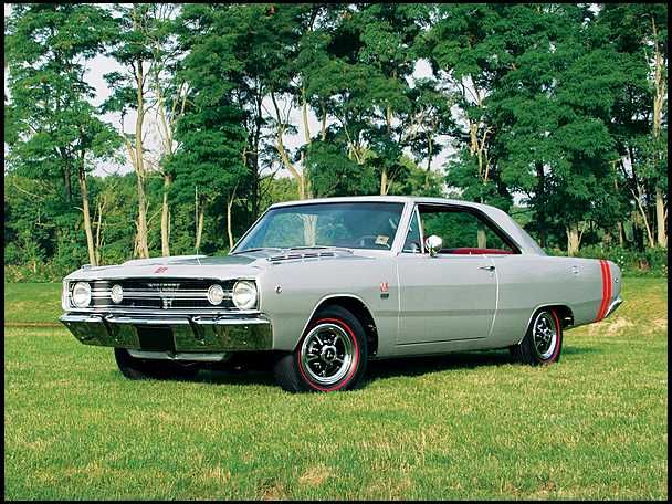 1968 Dodge Dart GTS Coupe 383/300 HP, Automatic