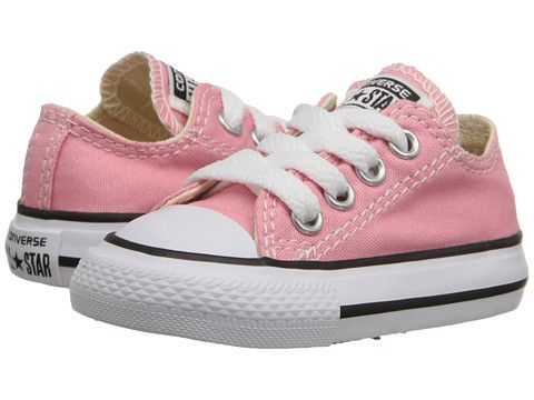 5cbecd1b786e Converse Kids Chuck Taylor® All Star® Ox (Infant Toddler) Daybreak Pink -  Zappos.com Free Shipping BOTH Ways