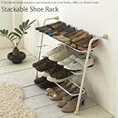 シューズラック 靴棚 ラック 玄関 ホワイト 薄型 ヒール収納 靴収納 スマート おしゃれ 省スペース スリム