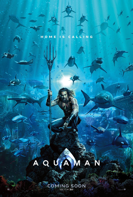 Aquaman Arthur Curry Et Ses Animaux De Compagnie Pour Le Premier