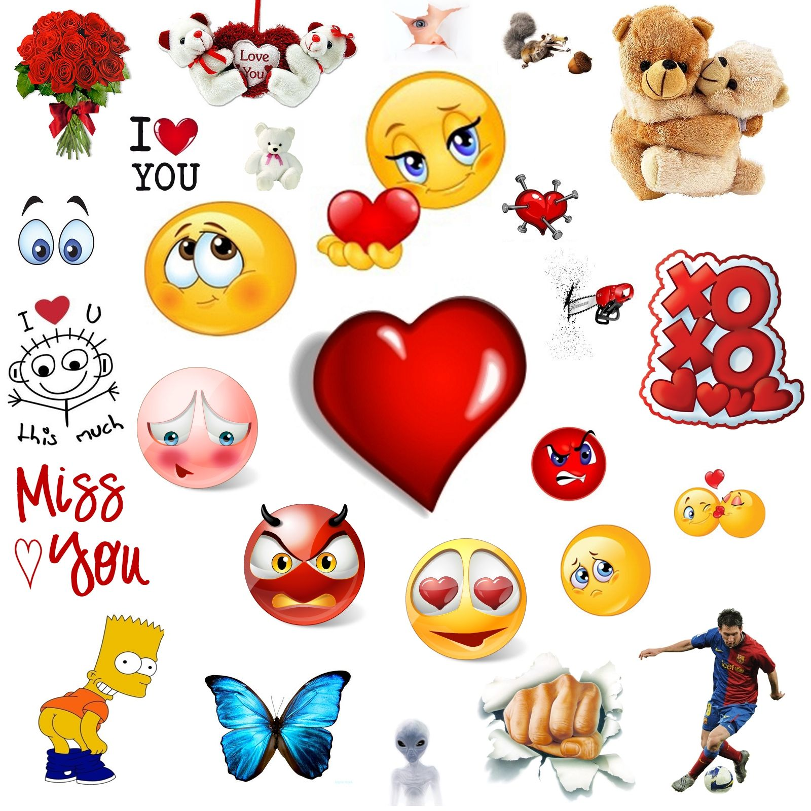 Now You Can Choose From Hundreds Of Amazing New Emoticons For