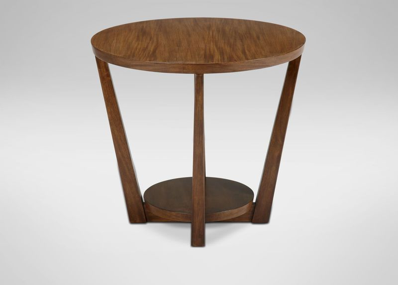 Glendale Round End Table Ethan Allen 450 Plus Bad Taste For Life Living Room Table Table End Tables