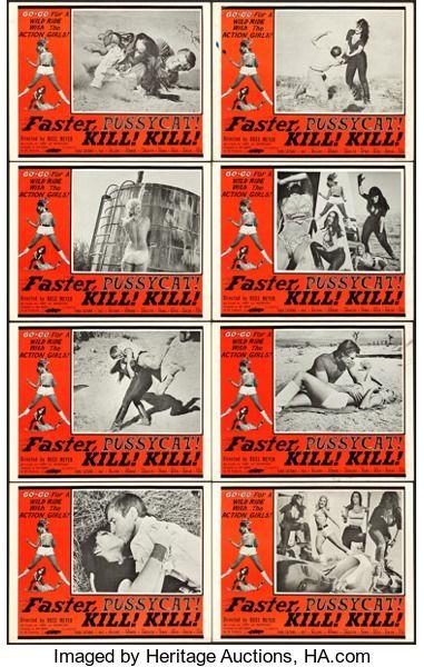 """Faster Pussycat kill kill 14 x 11/"""" Photo Print"""