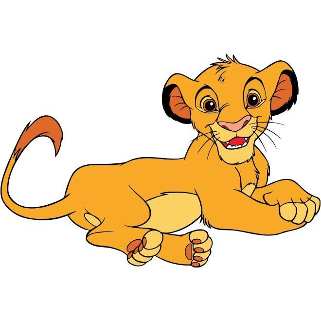 Cartoon Characters Lion King : Free vector lion king cartoon character http