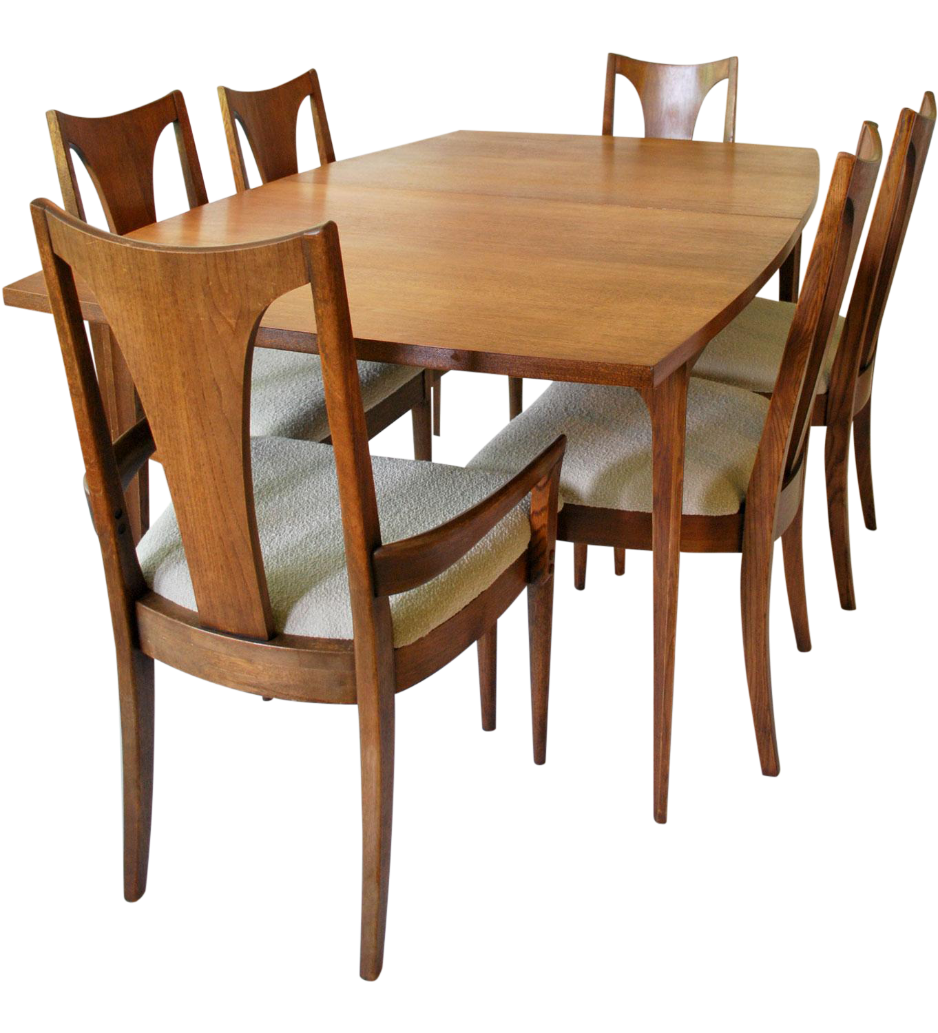 Vintage Broyhill Brasilia Dining Set On Chairish Com Mid Century