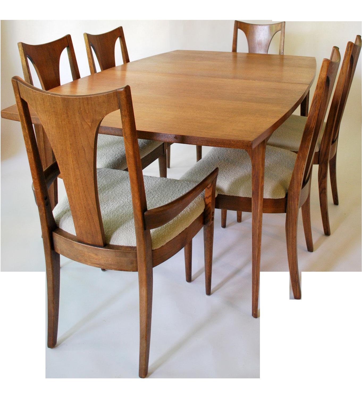 Vintage Broyhill Brasilia Dining Set  on Chairish.com