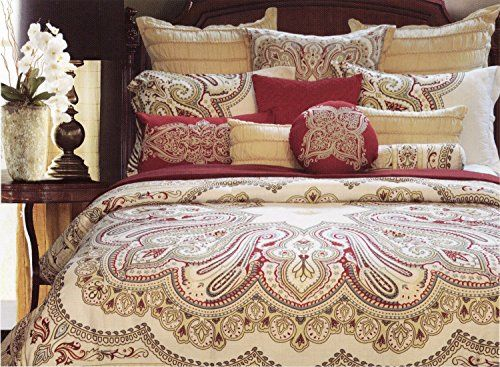 Nicole Miller Full Queen Duvet Cover And Shams Set