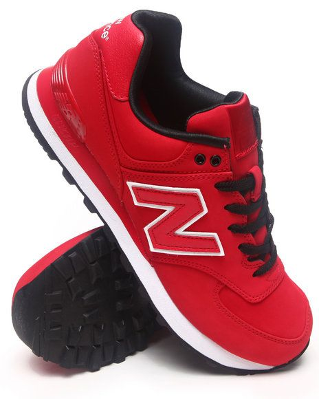 new balance 574 all red