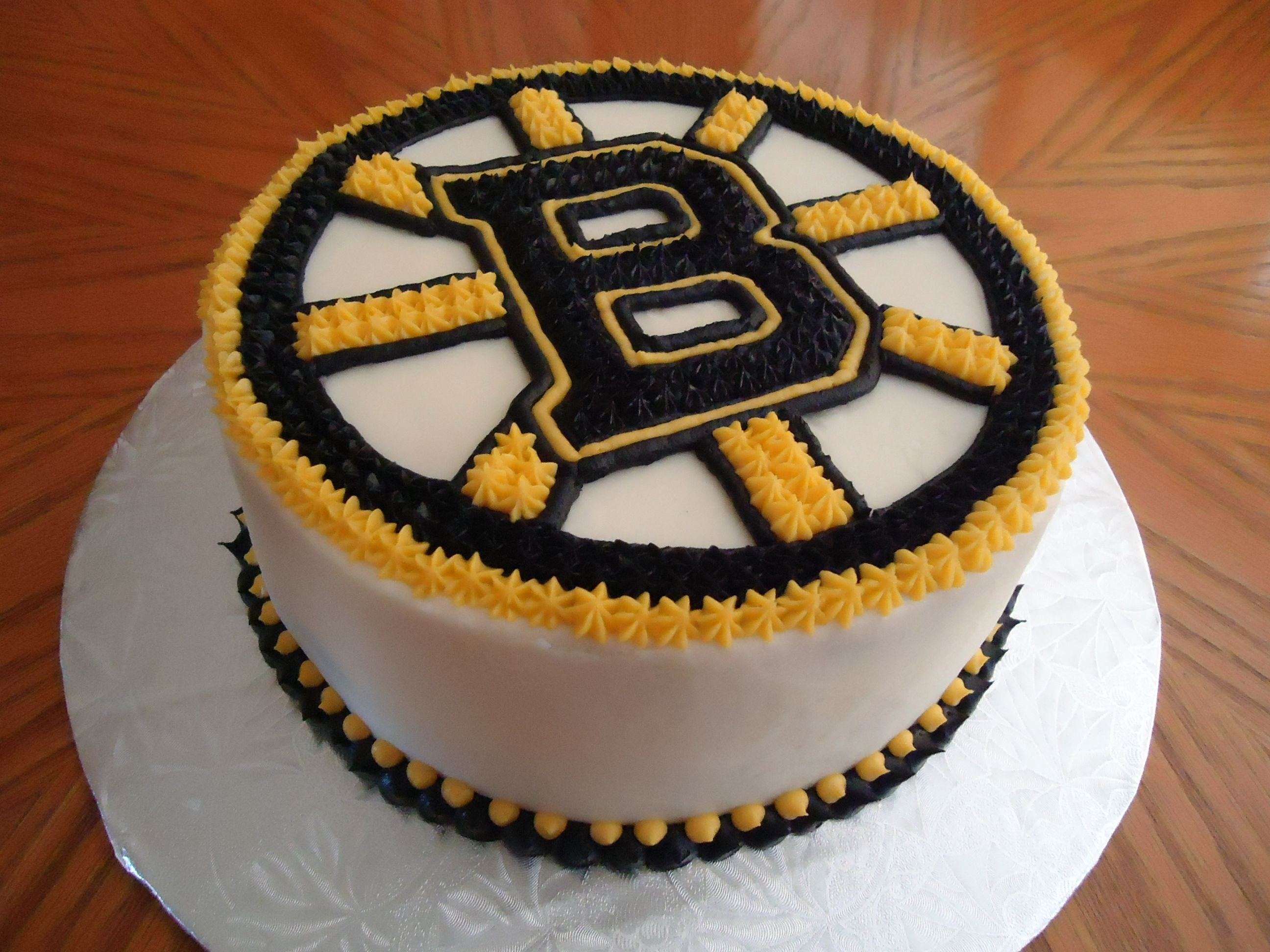 30 Pretty Image Of Birthday Cakes Boston Bruins Cake For