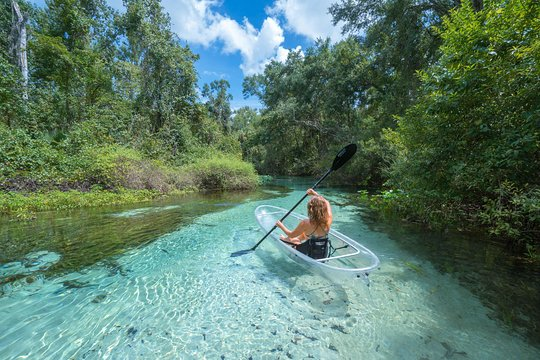Photo of TripAdvisor | Clear Kayak Tours in Rock Springs provided by Get Up And Go Kayaking | Kissimmee, Central Florida