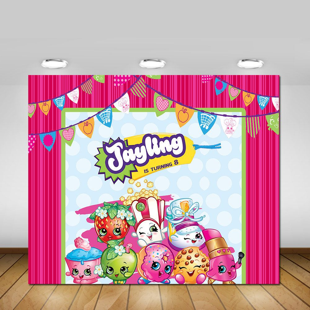 Featured Etsy Products Shopkins Party Shopkins Birthday