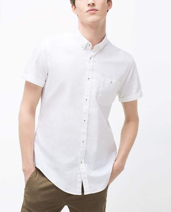 Image 3 of OXFORD SHIRT from Zara