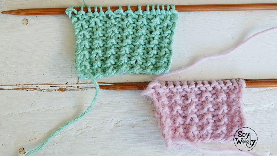 Puntos para bufandas tejidas-Soy Woolly | tejidos | Pinterest ...