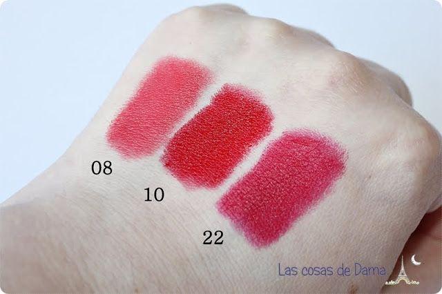 Fluid Velvet Mat Lipstick De Deborah Milano 06 Iconic Red 04 Socking