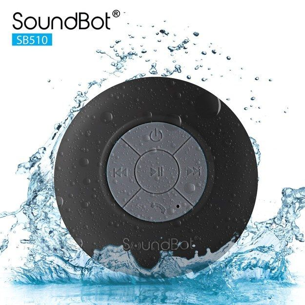 This waterproof bluetooth speaker to help you sing in the shower. | 27 Things…