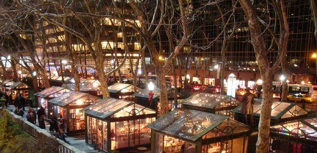 Christmas Market New York 2019.Winter Village In New York City Christmas 2015 New York