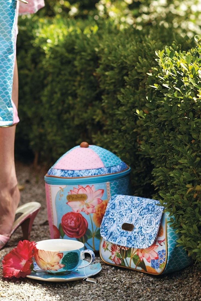 Royal Tea Cup Saucer Multi Colour Pip Studio