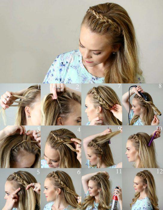 15 originales peinados con trenza para cabello largo que querrs hacerte ahora - Trenzas Pelo Largo