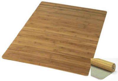 Badematte, Kleine Wolke, »Bambus Holzmatte«, Höhe 5 mm, Bambus ...