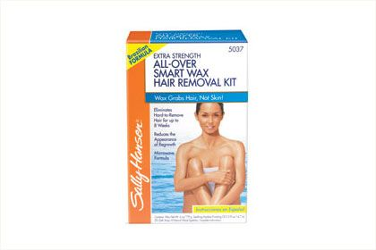 No. 3: Sally Hansen Extra Strength All-Over Body Wax Hair Removal Kit, $9.99