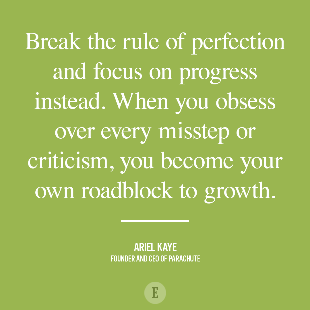 Quotes About Progress Break The Rule Of Perfection And Focus On Progress Instead