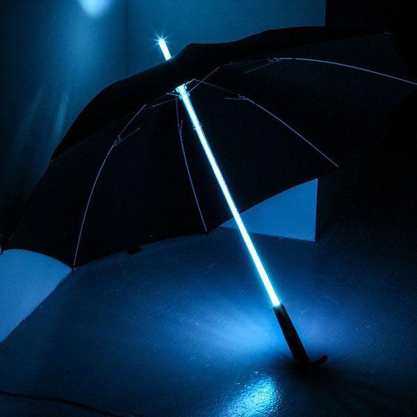 Paraguas sable láser