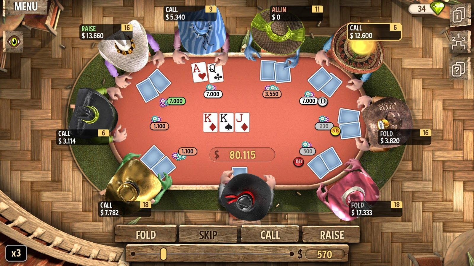 Governor of Poker 2 Hack Governor of Poker 2 Free Gems