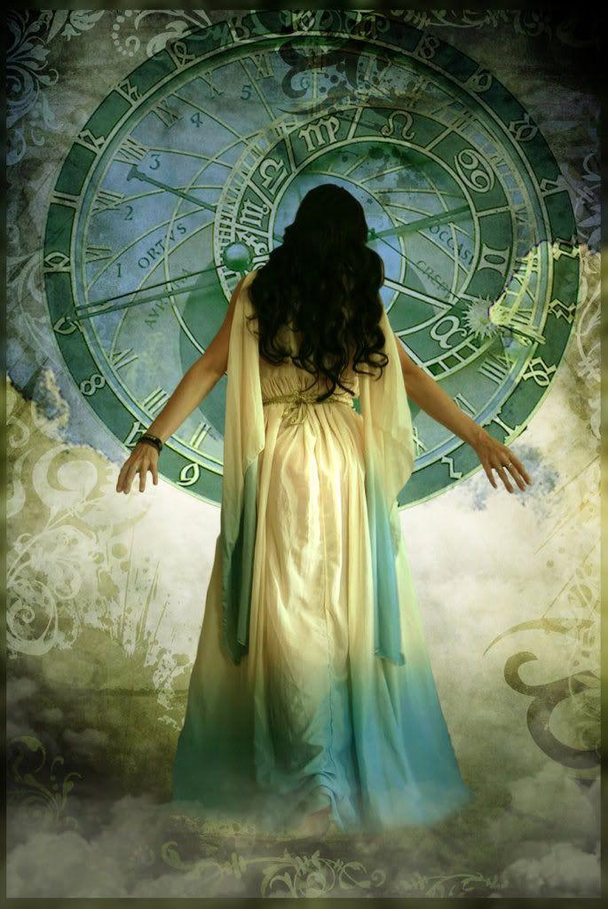 Magical Hands Of Time Le Temps Qui Passe Illustration