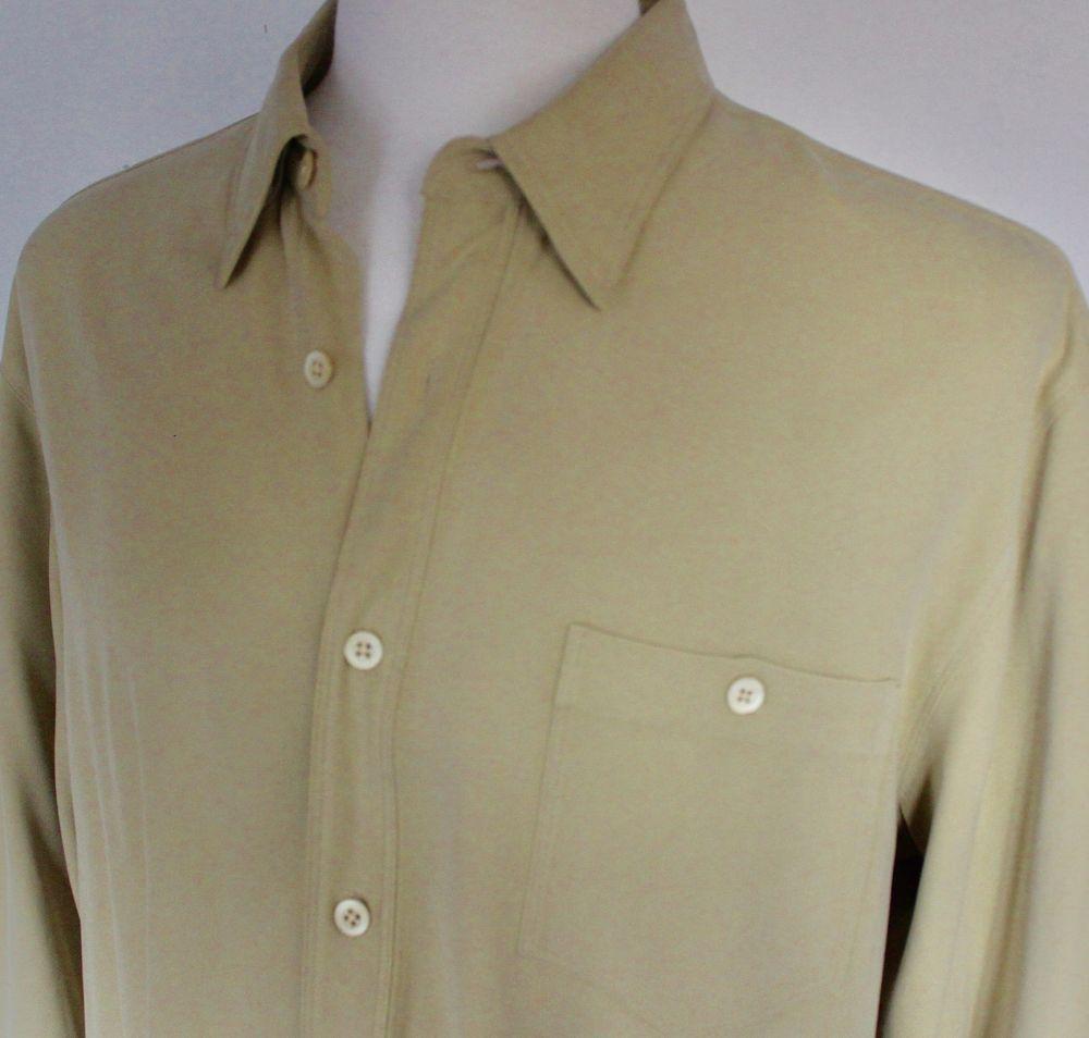 612a7c4b Tommy Bahama Silk Long Sleeve Shirt | Top Mode Depot