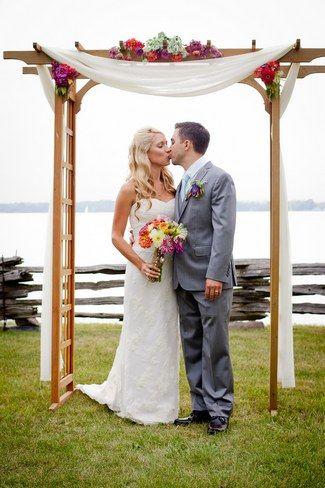 9d436813ff6f Pin by Samantha Thompson on Wedding Decor in 2019   Pinterest   Wedding,  Wedding canopy and Wedding confetti